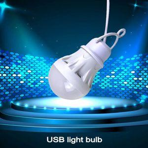 Night Lights LED Lantern Portable Camping Lamp Mini Bulb 5V USB Power Book Light Reading Student Study Table Super Birght For Outdoor