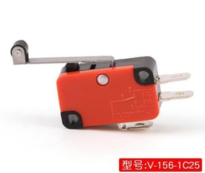 V-156-1c25 Micro Switch Lever Long Hinge lever Arm roller No+nc 100% Brand New Momentary Limit Spdt Snap Action