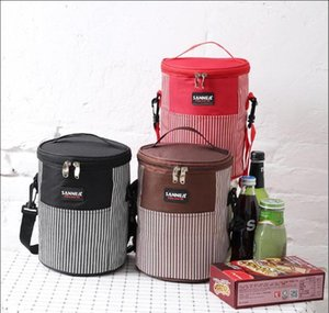 Waterproof Thermal Reusable Picnic Cooling Lunch Box Basket Insulated Bag for Work, School