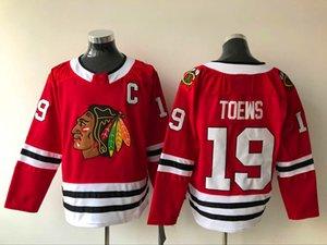2021 Chicago Blackhawks Jerseys Men Jonathan Toews Jersey Patrick Kane Alex DeBrincat Kirby Dach Duncan Keith Stitched