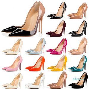 2020 kadın 8 cm 10 cm 12 cm Moda Kırmızı Alt Topuklu Ayakkabı Beyaz Siyah Pembe Sarı Mavi Sneakers Casual Des Chaussures Boyutu 36-42