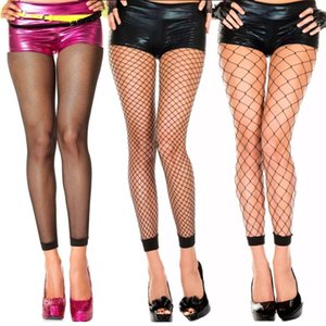 Сексуальные эластичные рыболовные дамы дамы колготки лобные тонкие носки вечеринка ночной клуб колготки прозрачные кружевные сетки узкие модные чулки