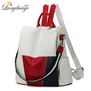 2020 New High Quality Leather Women Backpack Anti-Theft Travel Backpack Large Capacity School Bags for Teenage Girls Mochila