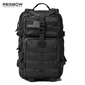 REEBOW TACTICAL Military Assault Pack Backpack Outdoor Hiking Backpacks Army Molle Waterproof Camping Bug Out Bag Rucksack Y200920