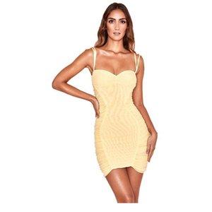 Summer Lemon Womens Dress Mesh Ruched Bandage Mini Ruffle Spandex Elegant Women Casual Dresses 8295Women Sexy Bodycon 8295