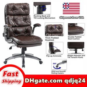 High chair furniture grade office product swivel computer desk backrest adjustable height play stool Shipment in US warehouse table
