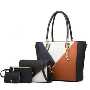 Luxury Fashion Vendors Ladies 4pcs Purse Bags 4 Set Handbags for Women 2021 Sets