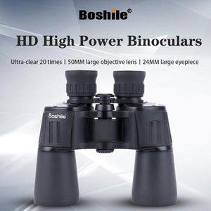 Telescope & Binoculars Boshile Powerful 20x50 HD Military Professional Telescopefor For Outdoor Camping Hunting