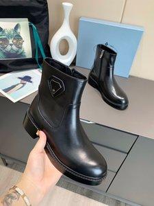 Bayan Newcolor Rahat Çizmeler Ayakkabı Deri Örgü Orta Top Roman Martinboots Partisi Deddingshoes Platformu Trainer Bootshoes