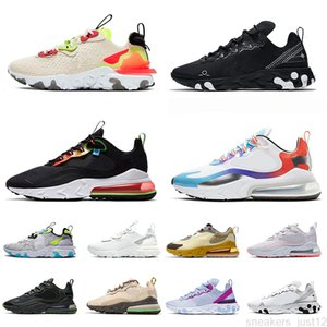 Vision React Element 55 87 Cactus Jack Trails Running Shoes for Mens Womens Black Schematic White Have A Good Game Trainers Sneakers