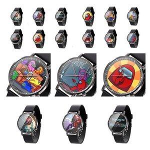 Among Us Game Watch Cartoon Game Print Watch Unisex Watches Designer Wrist Watch Analog Wristwatches Bracelet boutique NEW F112104