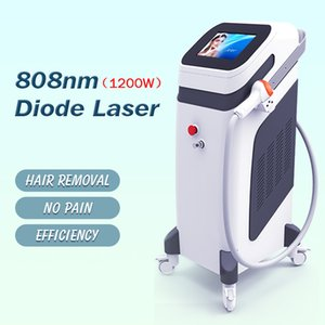professional 1200w strong power hair removal machine 808nm diode laser imported high quality accessories beauty clinic