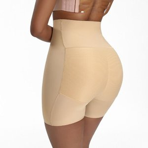 Women's Shapers Women BuLifter Body Shapewear High Waist Underwear Fake Ass Female Buttocks Leggings Abdomen Boxer Briefs Sexy Lingerie