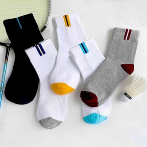 Autumn and Winter Sports Cotton Men's Middle Tube Summer Thin Stockings Sweat Absorbent Socks