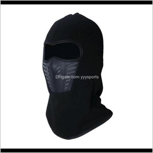 Caps Masks Protective Gear Sports & Outdoors Drop Delivery 2021 Active Wear Cold-Weather Men Women Balaclava-Style Mask Blocks Cold Weather A