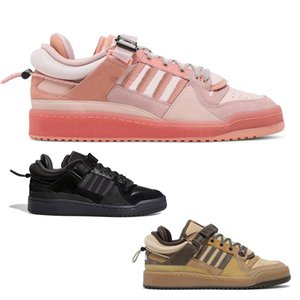 Forum Buckle Low Casual Shoes mens womens Core Black Easter Egg The First Cafe sports sneakers trainers fashion outdoor size 5-11