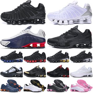 chaussures shox tl shoes estoque x Tênis de corrida das mulheres dos homens Chaussures ENTREGUE Mens Trainer Sports Sneakers
