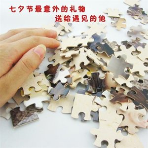 Blank Sublimation A5 Jigsaw with 80 Pieces DIY Heat Press Transfer Crafts Puzzle for Kids Children Christmas Party Favor 368 S2 FZDQ
