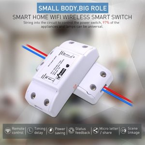 Tuya Wifi Switch DIY Wireless Remote Domotica Light Smart Home Automation Relay Module Controller Work With Alexa Controlers