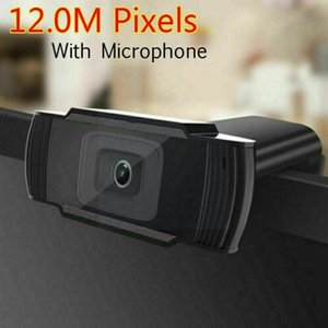 Webcams 1080p Full Hd Webcam With Microphone Usb Plug Video Desktop For Pc Recording Broadcasting Game And Call Computer F7D6