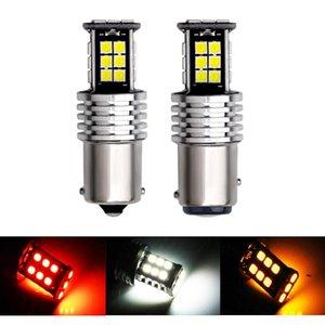سيارة داخلية led canbus no أضواء خطأ S25 1156 1157 P21W / 5W للاتحاد السيارات إشارة مصابيح الفرامل المصابيح T20 7443 3157 W21 / 5W ديود الطوارئ