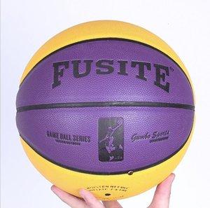حجم الرسمي الحجم 5/6/7 كرة السلة كرة السلة في الأماكن المغلقة / في الهواء الطلق دائم كرة السلة التدريب التدريب بو الجلود الصبي كرة السلة