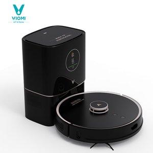 Viomi-robô aspirador de aspirador S9 com 950W, coletor de poeira automática inteligente, display LED, 2700Pa, para varrer e esfregar tapetes de chão