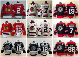 2021 Chicago Blackhawks Jerseys Men Jonathan Toews Jersey Patrick Kane Alex DeBrincat Kirby Dach Duncan Keith Stitched