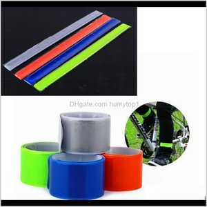 Lights Sports Outdoors Four Colors Pratical Mtb Road Bike Bicycle Reflective Safety Pant Band Leg Strap Belt Cycling Accessories Zza82