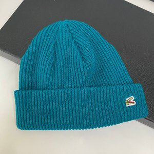 Men Fashion Designers Beanie Hat Beanies Classic Caps Hats Mens Winter Warm Cap Women Crocodile Embroidery Autumn Casquette Yosisso