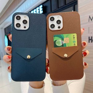 The new iPhone12 card package leather pattern mobile phone shell Apple 11 card XR leather pattern protective cover ultra-thin shell