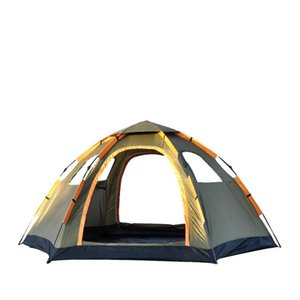Portable Waterproof Windproof Tents Automatic Speed Openning Camping Explorer Double Layers Outdoor Family Tent 12030 And Shelters