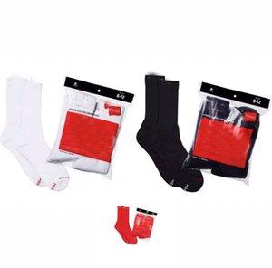 2 쌍 / 팩 패션 양말 캐주얼 코튼 3 색 스케이트 보드 힙합 양말 스포츠 양말