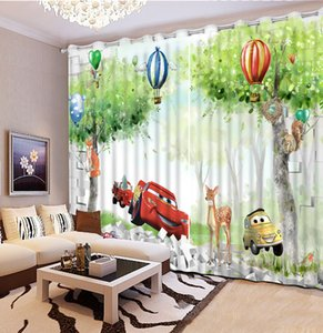Home Decoration Blackout Curtain Photo 3D For Living Room Bedroom Sheer Curtains Kitchen