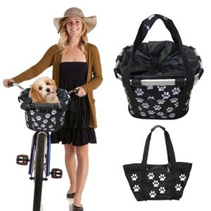 Cat Carriers,Crates & Houses Pet Bicycle Shopping Basket Removable Handlebar Bike Portable Folding Small Dog Carrier Cycling Bag Outdoor DH