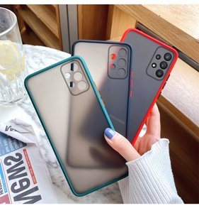 Translucent Matte Phone Case for Galaxy A22 A82 A32 A42 A52 A72 4G SM-60 5G Cover Skin Feel Full Protection