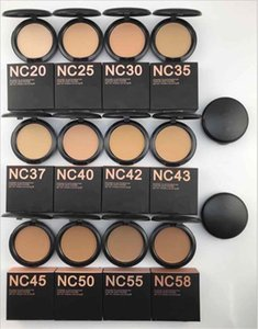 Brand Face Pressed Powder Foundation Makeup 15g NC 12 Colors Professional Cosmetics For Women Beauty DHL Free