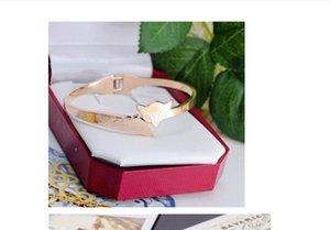 Bracelet bangle 18K Rose Gold Fox Lady Female Fawn