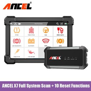 Automotive Scanner DPF EPB SAS ABS TPS Reset Car Free Update Diagnostic Tool Multilingual OBD 2 Scan ANCEL X7 Tools