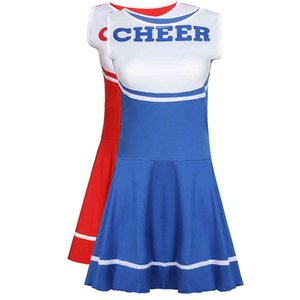 Sexy Cosplay Costumes Game Role Adult Women's Baby Cheerleading Costume