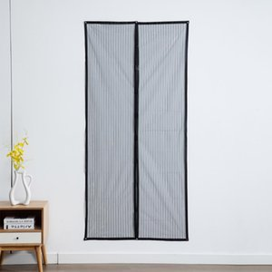 Curtain & Drapes 39.4 * 82.7 Inches Magnetic Screen Door Mesh With Adhesive Tape And Thumbtacks Preventing Mosquito Insects Flies