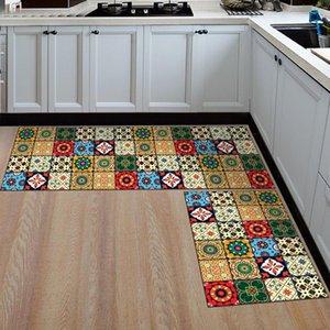 Carpets Non-slip Floor Mat For Kitchen Waterproof Oil Proof Kithen Carpet Door Mats Area Rugs