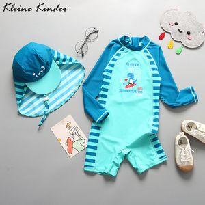 Childrens Swimwear Bathing Suit Toddler UPF50+ Cartoon Dinosaur One Piece Swimming Suit Kids Boy UV Protect Beach Clothes Baby