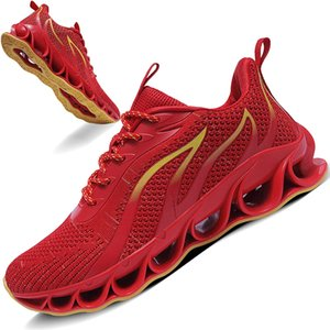 Men Blade Casual Walking Shoes Sport Athletic Wihte Jogging Sneakers