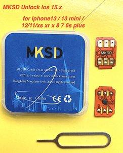 TOP2021 NEW MKSD ultra blue iccid updatable unlock turbo sim for IOS15.x-13.x ALL carriers iPhone13 13minin 12 11pro  11 XR  X XS 8 7 5s SE Sprint verizon gevey pro