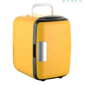 4L Refrigerator Car Dual-use Mini Portable Refrigeration Breast Milk Cosmetics Student Dormitory Heating
