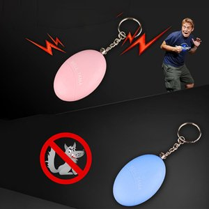 Personal Security Alarms for Night Worker and Woman key chain emergency self defense 120DB portable anti rape Female