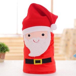 Cartoon Christmas Flannel Blanket Foldable Santa Claus Snowman Penguin Deer Pattern Carpet Washable Keep Warm Soft Throw Blankets YHM89-ZWL