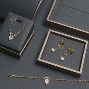 new letter neckchain Necklace female suit letter love bracelet net red