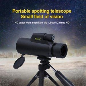 Telescope & Binoculars 42X10 HD Zoom Angled Bak4 Monocular Waterproof Case Dark Outdoor Astronomical Hunting Wild Camping Survival